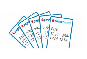 Predplatená karta Paysafecard